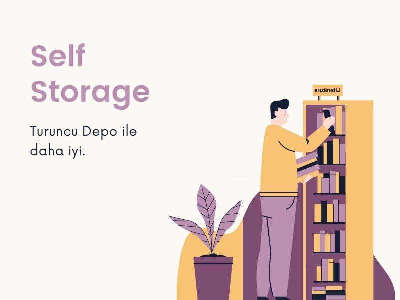self storage eşya depolama